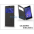 Kalaideng Sony Xperia T3 (D5103) flipes tok - Kalaideng Iceland 2 Series View Cover - black