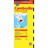 Kambodzsa térkép - Periplus Editions