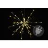 Karácsonyi világítás - meteorzápor - meleg fehér, 40 cm 80 LED
