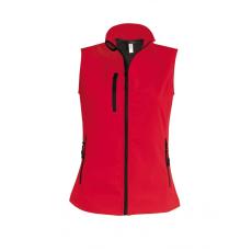 KARIBAN női vízálló mellény, piros