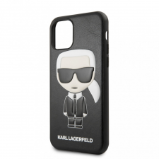 Karl Lagerfeld tok fekete (KLHCN61IKPUBK) Apple Iphone 11 készülékhez tok és táska