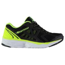Karrimor gyerek futócipő - Karrimor Pace Run Childs Running Shoes Black Fluo Yell