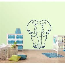 KaticaMatrica.hu Óriás elefánt tapéta, díszléc és más dekoráció