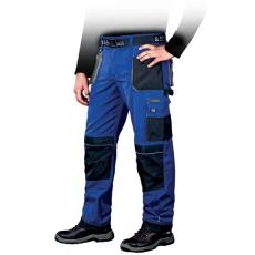 Kék Derekasnadrág FORMEN, 65% poliészter és 35% pamut  (Dizájnos munkaruha)