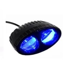 Kék figyelmezteő lámpa12V-80V LED BLUE LED LAMP világítás