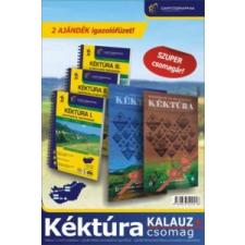 Kéktúra Kalauz PLUSZ csomag idegen nyelvű könyv