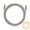KELine KEL-C6A-P-100 Kategória 6A, 10Giga patch kábel STP, 10 m, LSOH halogénmentés, Szürke