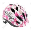 KELLYS KLS Buggie kerékpáros gyereksisak, fehér virágos M-es (52-56cm)