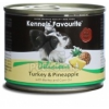 Kennels' Favourite with Turkey & Pineapple / Pulyka és Ananász 200 g