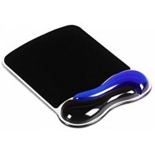 Kensington Crystal Mouse Pad Wave (géltöltésű csuklótámassz) kék-fekete egéralátét asztali számítógép kellék