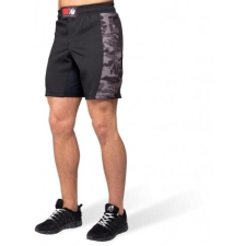 KENSINGTON MMA FIGHTSHORTS - BLACK/GRAY CAMO (BLACK/GRAY CAMO) [L] férfi nadrág