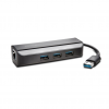 Kensington UA3000E USB 3.0 to Ethernet Adapter with USB Hub