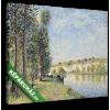 Képáruház.hu Alfred Sisley: A Loing folyó Moretnál(25x20 cm, vászonkép)