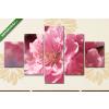 Képáruház.hu Barackfa virága(135x70 cm, S01 Többrészes Vászonkép)