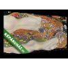 Képáruház.hu Gustav Klimt: Vizikígyók II. (1906-1907)(40x20 cm, vászonkép)