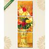Képáruház.hu Pierre Auguste Renoir: Tulipánok vázában(125x40 cm, B01 Többrészes Vászonkép)