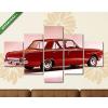 Képáruház.hu Plymouth 4 ajtós Sedan, 1963(135x70 cm, S01 Többrészes Vászonkép)