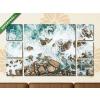 Képáruház.hu Premium Kollekció: Ocean Waves(135x80 cm, W01 Többrészes Vászonkép)