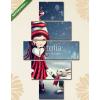 Képáruház.hu Premium Kollekció: Winter fairy girl(135x70 cm, S01 Többrészes Vászonkép)