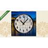 Képáruház.hu Vászonkép óra, Budai panoráma(25x25 cm, C01)