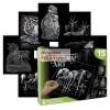 Képkarcoló válogatás készlet 6 képpel - Ezüst - Vadon