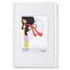""". Képkeret, műanyag, 10x15 cm,  """"New  Lifestyle"""", fehér"""