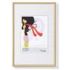 """. Képkeret, műanyag, 20x30 cm,  """"New  Lifestyle""""arany"""