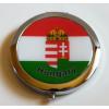 Kerek színes címeres szelence