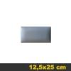 Kerma bőr falpanel, bőrpanel, Arden-602 Szürke (12,5x25 cm)