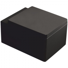 Kerra Thor 26 fali wc soft-close ülőkével, fekete fürdőszoba kiegészítő