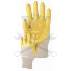 Kesztyű sárga nitril 08-as Houston (K036-08)
