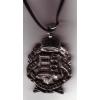 Kétoldalú koszorús címeres nyaklánc