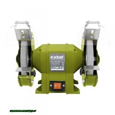 kettős köszörűgép 350W, száraz,200×16×20mm, 2950 ford/perc, P36, P80, 11kg köszörű