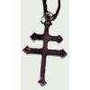 Kettőskereszt nyaklánc (5X3 cm)