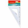 KeyRoad KR971052- műanyag 60 fokos 18 cm 24 blisz/dob Vonalzó
