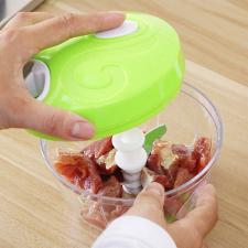 Kézi gyors szeletelő, aprító konyhai eszköz