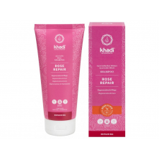 Khadi Rose Repair Ayurvédikus elixír sampon, 200 ml sampon