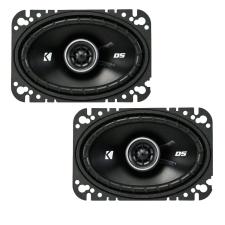 Kicker KICKER DSC460 4×6″ (100x160mm) koaxiális hangszórók, 4 Ohm hangszóró