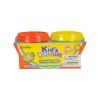 Kid's Toys Piros és sárga tégelyes gyurma, 2x140 g