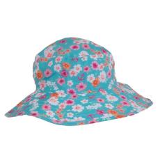 Kidz Banz Baby,-Kidz Banz gyermek napvédő sapka (kifordítható Pink Floral)