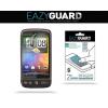 Kijelzővédő fólia, HTC Desire, Eazy Guard, Clear Prémium / Matt, ujjlenyomatmentes, 2 db / csomag