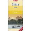 Kína déli része térkép - Nelles
