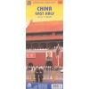 Kína (keleti rész) térkép - ITM