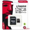 Kingston 128GB microSDXC UHS-I memóriakártya,C10