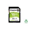 Kingston 16GB SD Canvas Select 80R (SDHC Class 10 UHS-I) (SDS/16GB) memória kártya (SDS/16GB)