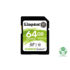 Kingston 64GB SD Canvas Select 80R (SDXC Class 10 UHS-I) (SDS/64GB) memória kártya (SDS/64GB)