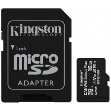 Kingston Canvas Select Plus microSDHC 16GB + ad. memóriakártya