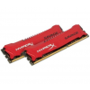 Kingston DDR3 16GB 1866MHz Kingston HyperX Savage CL9 KIT2 Piros (HX318C9SRK2/16)