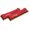 Kingston DDR3 8GB 1600MHz Kingston HyperX Savage CL9 KIT2 Piros (HX316C9SRK2/8)