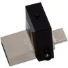 Kingston DTDUO3C/64GB DT MicroDuo 3C USB 3.1 pendrive - 64GB - fekete-szürke